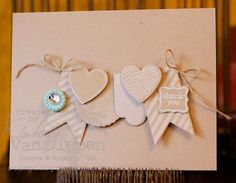 Hearts A Flutter, Sale-A-Bration Buttons and Pretty Petites Stamp set by Kimberly Van Diepen Stampin Up! Demo