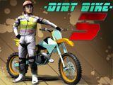 Dirt Bike 5 - Conducir con neumáticos, barriles, rampas y más como usted hace su camino a través de los circuitos de ciclismo exigentes. Asegúrese de realizar tantos trucos como sea posible!