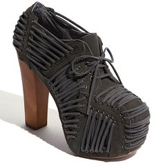 The Look for Less: The Jeffrey Campbell 'Laced' for the Iris Van Herpen X United Nude 'Iris Shoe Laced'
