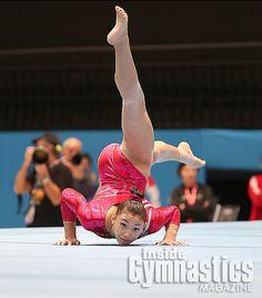 Kyla Ross, I love this little part of Kyla's floor routine!