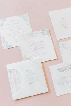 Romantic Pastel Wedding at Memoire