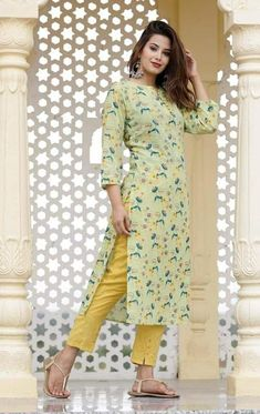 Printed anniversary Gift Women kurti Designer Dress   Etsy Latest Kurti Design FASHION : IMAGES, GIF, ANIMATED GIF, WALLPAPER, STICKER FOR WHATSAPP & FACEBOOK #EDUCRATSWEB