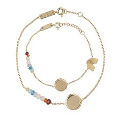 She's a Rainbow mother - daughter set - The sky answers the rainy skies with every color our eyes can see; a rainbow' She's A Rainbow, Under The Rainbow, Mini Lifestyle, Hand Engraving, Rolling Stones, Beautiful Babies, Beaded Necklace, Pure Products, Jewels