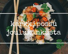 Raparperimehu, helppo ja nopea resepti ilman mehumaijaa Chicken, Meat, Food, Eten, Meals, Cubs, Kai, Diet