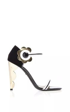 Polly Petal Nola Sandal by Nicholas Kirkwood for Preorder on Moda Operandi