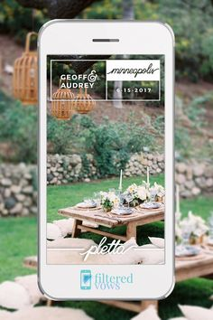 Custom Wedding Snapchat Geofilter  PC: @adorefolklore  http://shrsl.com/?esy8 {copy & paste link}
