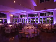 Uplighting by DM Productions - Cruiseport Gloucester