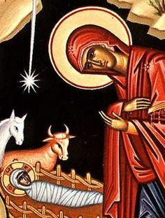 Greek Orthodox Nativity Icon