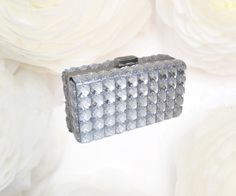 SPRING 15%OFF Silver Bridal Rhinestone Crystals Clutch - Bridal Bag-Evening Bag#https://www.etsy.com/listing/398353523/spring-15off-silver-bridal-rhinestone?ref=shop_home_active_1