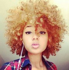 Afro! Fro ... hair fashion styles love!!