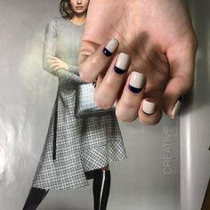 Стильні нігтики by #yuliia_dzhulynets #CREATIVE #nailstudio #nailsdesign #manicure #luxioternopil #lovenails