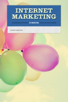 Help spread the word about INTERNET MARKETING. Please share! :)