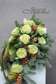 Grave Flowers, Funeral Flowers, Funeral Flower Arrangements, Floral Arrangements, Black Flowers, Silk Flowers, Cemetery Decorations, Christmas Wreaths, Xmas