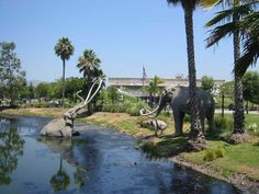 The La Brea Tar Pits have been around for thousands of years. Located in Hancock Park the tar pits show what life was like during the time of the cave man. If you visit on the second Tuesday of the month you can also visit the Los Angeles County Museum of Art (LACMA) next door.
