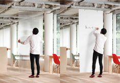 Mozilla office in Japan Paravent visuel + affichage