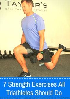 7 Strength Exercises All Triathletes Should Do -