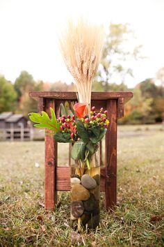 Rustic Fall Barn Wedding Décor ideas www.MadamPaloozaEmporium.com www.facebook.com/MadamPalooza