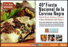 46ª Fiesta Nacional de la Corvina Negra en San Clemente del Tuyú