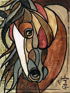 stained glass panels with swirly glass Stained Glass Designs, Stained Glass Panels, Stained Glass Projects, Stained Glass Patterns, Stained Glass Art, Horse Quilt, Horse Drawings, Glass Animals, Equine Art
