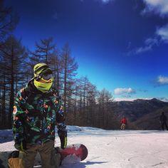 first snowboarding@2016 #snowboard