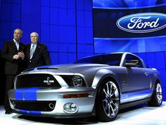 Shelby Tribute Mustang to Debut in Detroit