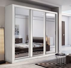Where space is limited and appearance is essential, sliding door wardrobe is perfect solution for any room. Saving space on the outside of the wardrobe whilst creating more within. Our sliding door wardrobes bring unparalleled elegance and style to your bedroom.   eBay!