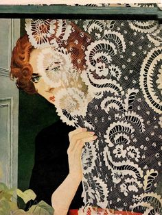 Maxwell Whitmore ~ Fashion painter and Magazine illustrator