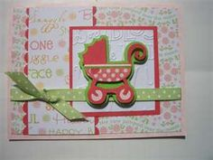 baby card using cricut