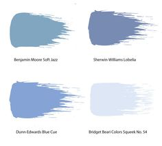 A Pretty Periwinkle Paint Welcomes Spring With The Sweetest Shade Of Blue Our Picks Below Are Begging To Splashed On Wall Benjamin Moore Soft Jazz