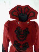 extravagant red jacket 1898 1