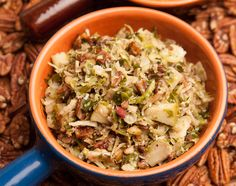 Paleo Comfort Foods Brussels Sprouts Slaw