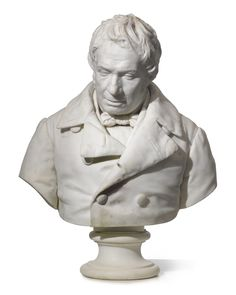A French or Italian marble bust of a Gentleman 19th century