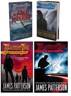 """""""Maximum Ride"""" series by James Patterson  Brilliant series written by a brilliant writer. James Patterson takes fiction to a whole new level in this thrilling and intense novel series."""