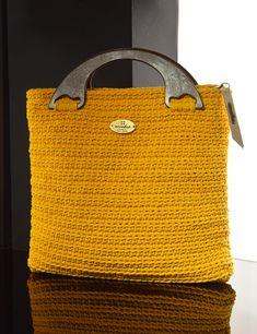 Matoohandmade City yellow Crochet Bags, Burlap, Reusable Tote Bags, Yellow, City, Crochet Purses, Hessian Fabric, Crochet Clutch Bags, Cities