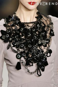Now that's a Statement Necklace of Grand Proportions