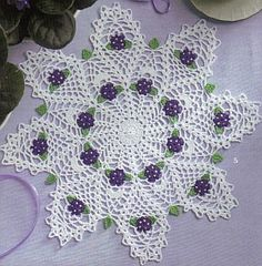 Doilies In Bloom - Crochet Patterns