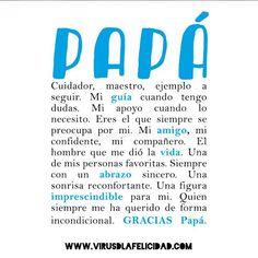 Feliz día Papás del mundo   http://ift.tt/1n71PmC  #virusdlafelicidad #papa #diadelpadre #sanjose #santjosep #diadelpare #pare #padre #dad #father