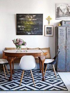 Un petit appartement fait de mélanges à Buenos Aires