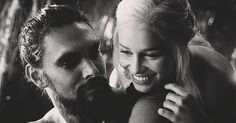 Pin for Later: 19 Times Game of Thrones Actually Made You Smile Khal Drogo and Dany's Relationship Takes Off