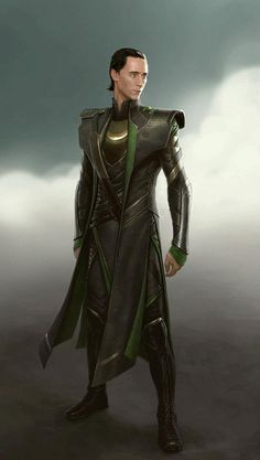 Avengers concept art: Loki  Character Design by Charlie Wen
