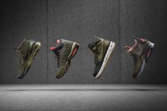 Weather-Proof Winter Sneakers - The Nike 2015 Sneakerboot Collection Banishes Boring Snow Boots (GALLERY)