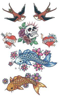 Thème Vintage | TattooForAWeek.com - Tatouages Éphémère . - tatouage temporaire - Oiseaux - JB/F8-28