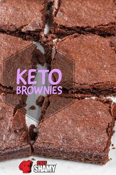 Keto Desserts, Healthy Dessert Recipes, Keto Snacks, Diabetic Recipes, Keto Recipes, Gluten Free Brownies, Keto Brownies, Heathy Treats, Keto Bars