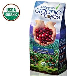 Cafe Don Pablo Subtle Earth Organic Gourmet Coffee Medium-Dark Roast Whole Bean, 2 Pound