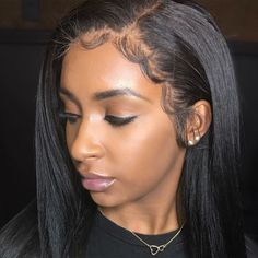 fabulous curly hair #straighthair #edges