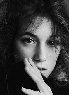 Charlotte Gainsbourg Photographed by Gilles Marie Zimmerman