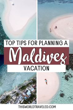 The top Maldives travel tips for planning your trip to paradise. Continue reading this information packed guide filled with useful tips including how to travel around the islands, the top things to do in the Maldives and more! maldives| maldives trip | maldives travel guide | maldives photography | maldives travel | maldives island Maldives Vacation, Stuff To Do, Things To Do, Island Nations, Beaches In The World, Plan Your Trip, Asia Travel, Travel Around, Cool Places To Visit