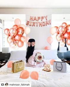 Birthday Ideas For Her, Birthday Girl Pictures, Birthday Balloon Decorations, Birthday Balloons, Happy 25th Birthday, Girl Birthday, Balloon Bouquet, Quinceanera Photography, Classy