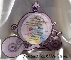 Disney Princess Invitation by handmadebyodette on Etsy, cute for Journey party