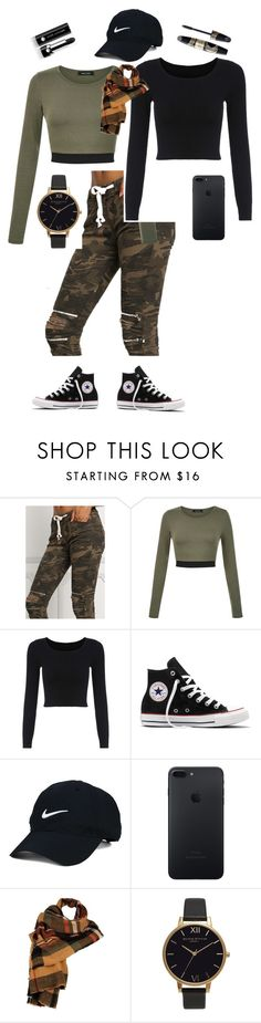 """""""Style"""" by pepo-beckham ❤ liked on Polyvore featuring Converse, Nike Golf, Wilsons Leather, Olivia Burton, Max Factor and Marc Jacobs"""